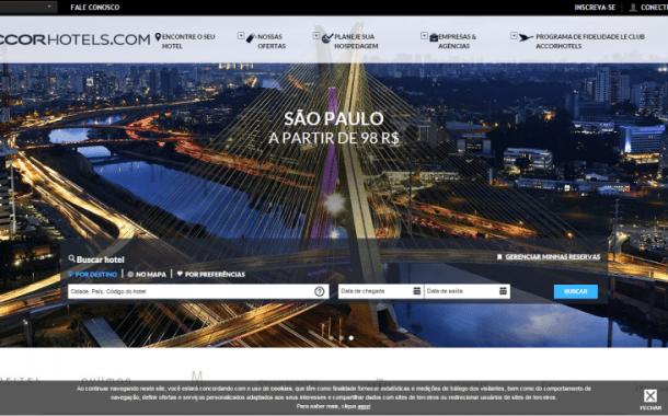 Solução de reservas online da Accor é implantada em mais de 150 destinos