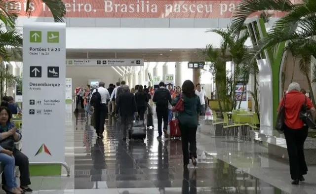 Anac reajusta em 8,02% tarifas do Aeroporto de Brasília
