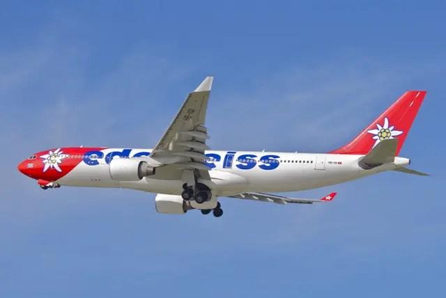 Edelweiss começa a voar para o Rio de Janeiro