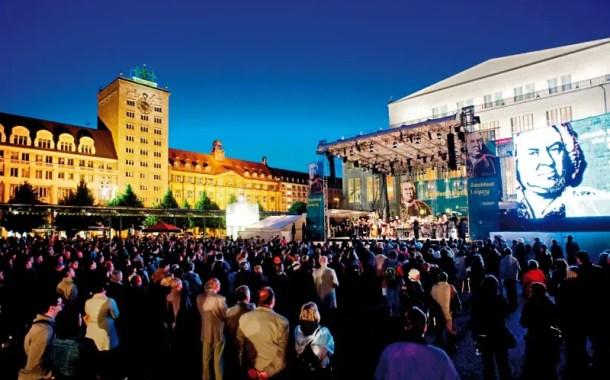 Leipzig: cidade de heróis, beleza e música, muita música