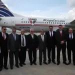 Copa Airlines entrega primeiro avião personalizado com a marca do São Paulo FC