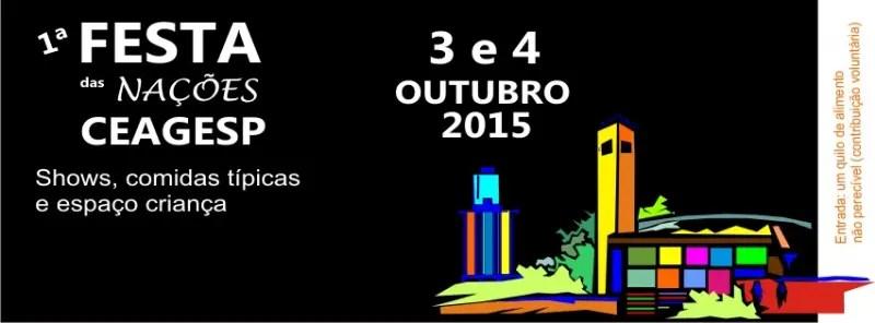 São Paulo recebe 1ª Festa das Nações em outubro
