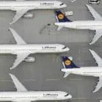 Lufthansa cancela voos de longa distância devido a greve