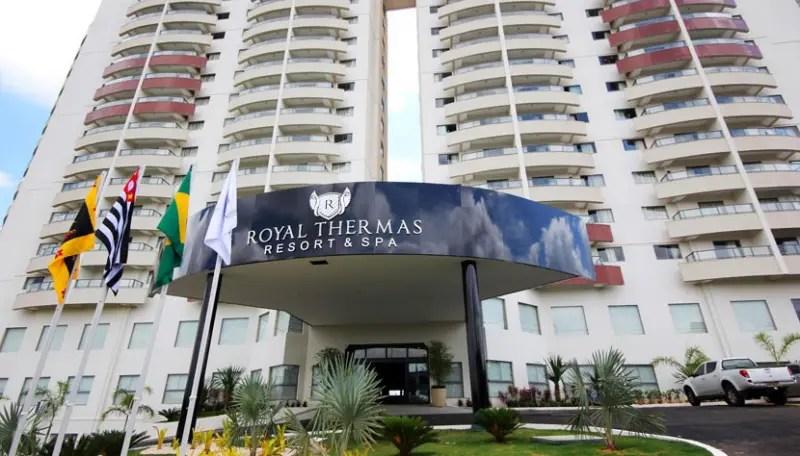 Operadora CVC estreita parceria com Royal Thermas Resorts & Spa, de Olímpia