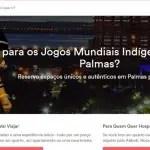 Airbnb disponibiliza página exclusiva de Palmas para Jogos Indígenas