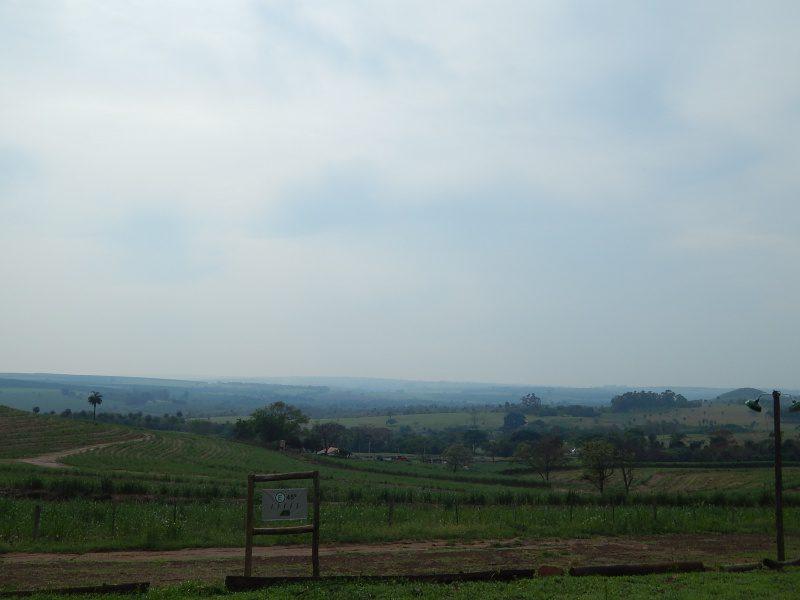 Vista do Ecoparque na zona rural de Brotas, onde é oferecida o novo atrativo da cidade: a Queda Livre
