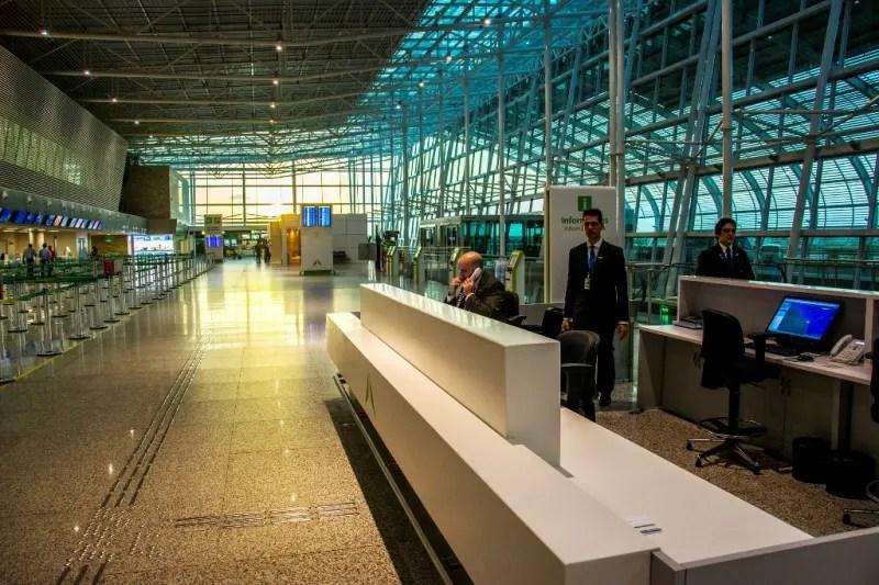 Aeroporto de Natal é o mais confortável do país, diz pesquisa