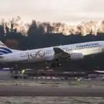 Copa Airlines comemora chegada de seu centésimo avião