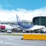 Tráfego de passageiros da LATAM cresce 1,9% em janeiro