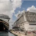 Pier Mauá recebe três navios internacionais a duas semanas do carnaval