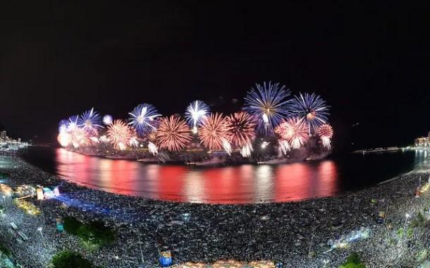Rio espera 800 mil turistas para o seu Réveillon
