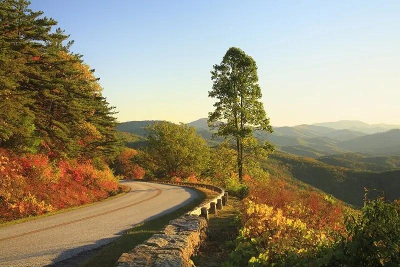 Blue Ridge Parkway, em Virginia