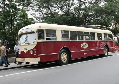 Passeio Turístico de Trólebus grátis no aniversário de São Paulo