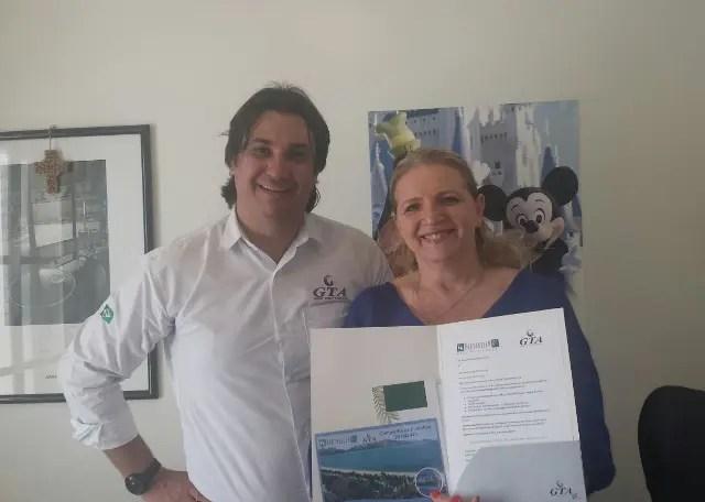 GTA e PortoBello premiam agentes de viagem