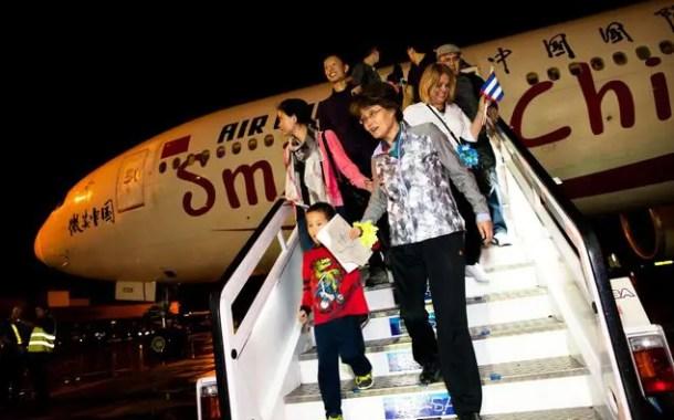China atua contra passageiros que causem distúrbios dentro dos aviões