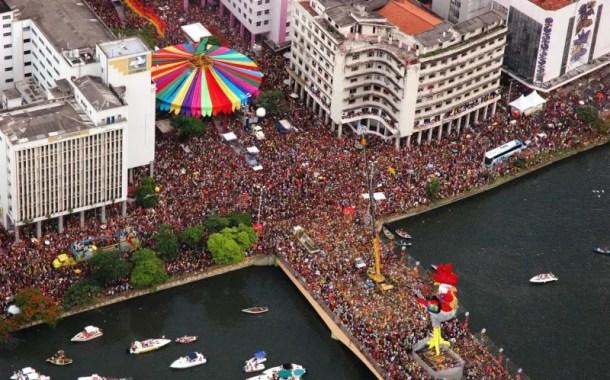 Pernambuco recebeu 1,7 milhão de turistas durante o Carnaval