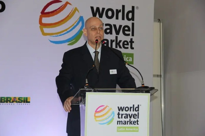 Lawrence Reinish, diretor da World Travel Market Latin America. (Crédito: DT)