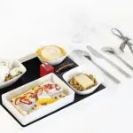 Air France tem novo menu criado por Jean Imbert