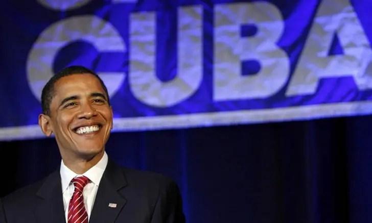 Barack Obama, presidente dos EUA, desembarca em Cuba