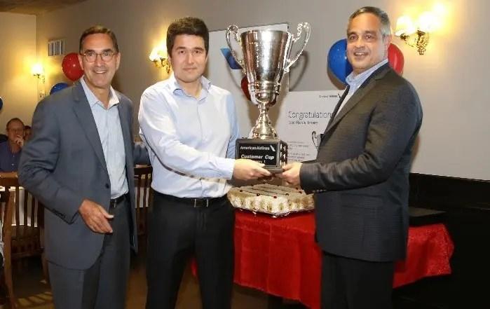 Competição elege equipe da American Airlines do Galeão como a melhor entre aeroportos