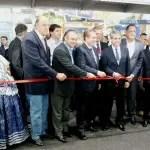 Pavilhão de exposições da AVIESP Expo é aberto