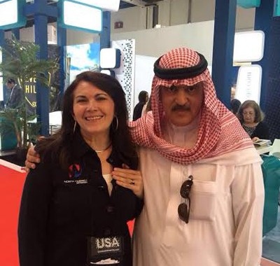North América Destinations participa do Arabian Travel Market