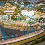 Seaworld Orlando anuncia data de abertura de sua montanha-russa gigante