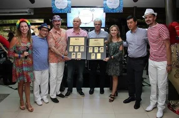 Grupo Rio Quente recebe premio da RCI Resort Condominums International)