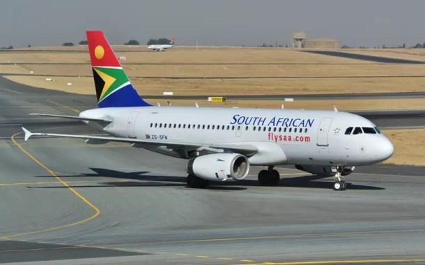 SAA coloca à venda nove aeronaves para receber nova frota