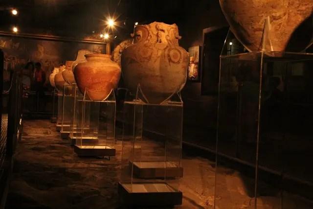 O museu arqueológico, localizado no Feliz Luzitânia, apresenta peças raras dos primórdios de Belém (Foto: DT)