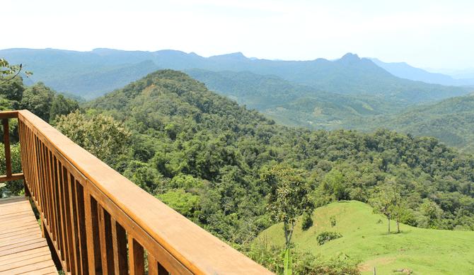 Boa fatia de turistas está interessada nas belezas naturais, cachoeiras e rios que a cidade oferece (Foto: divulgação)