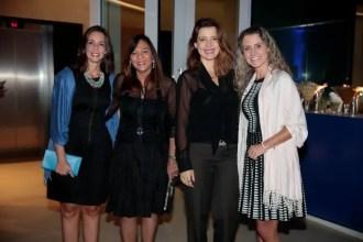Daniela Pimentel, Liciane Ferreira, Carolina Romanelli e Liz Lira