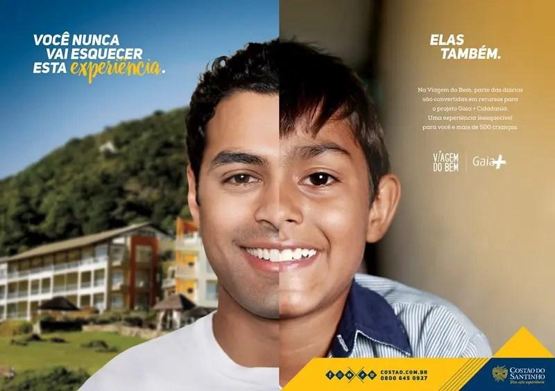Ações brilhantes: Costão do Santinho realiza Viagem do Bem