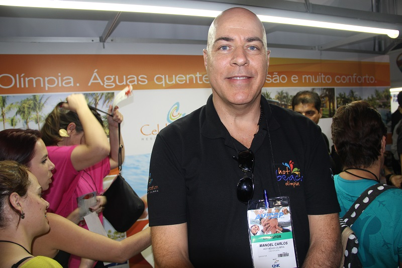 Manoel Carlos Cardoso, do Hot Beach: