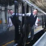 Belmond Grand Hibernian realiza viagem inaugural em Dublin