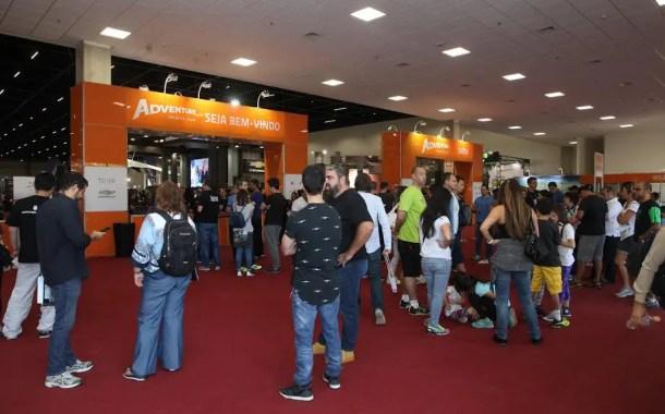 Adventure Sports Fair começa e mercado deve movimentar US$ 345 bilhões por ano no mundo