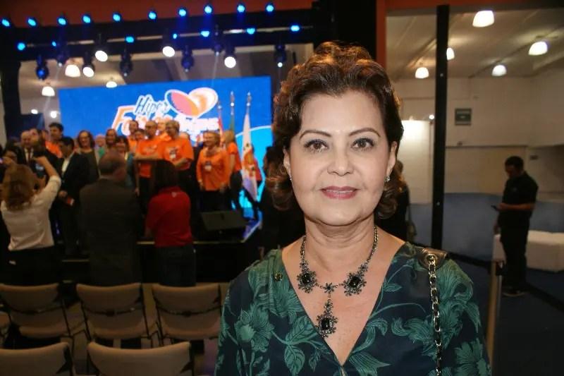 Tete Bezerra, secretária de políticas do Ministério do Turismo após abertura do evento, na manhã desta sexta-feira (7)