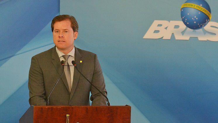 Marx Beltrão, novo ministro do Turismo, tomou posse em Brasília