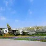 Emirates constrói A380 de flores em tamanho real no Dubai Miracle Garden
