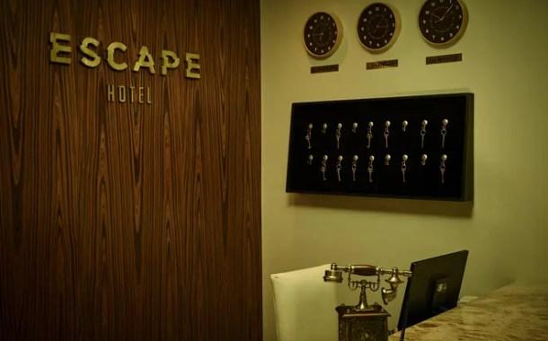 Escape Hotel oferece opção diferenciada de entretenimento em SP