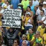 Atos em todo o Brasil pedem saída de Renan e defendem Moro