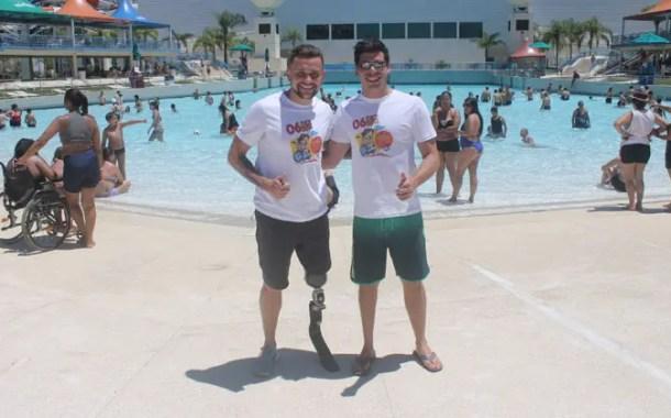 Wet'n Wild participa do Dia Nacional da Pessoa com Deficiência e dá exemplo