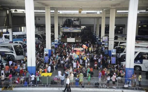 Rodoviária Novo Rio espera movimentação de 582 mil passageiros no fim do ano