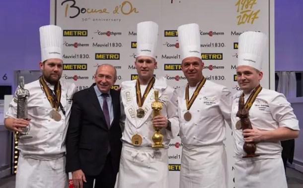Estados Unidos é o campeão da 30ª edição do Bocuse d'Or