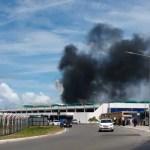 Princípio de incêndio no Aeroporto de Salvador