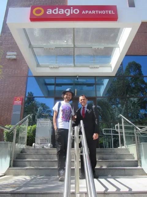 AccorHotels apoia Eduardo Kobra com seu mais novo trabalho