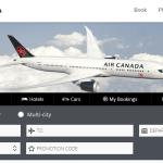 Air Canada renova seu site em parceria com a Amadeus
