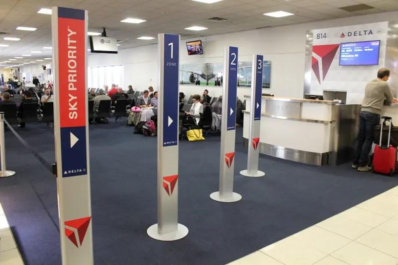 Delta aprimora sistema de embarque no Aeroporto Internacional de Atlanta