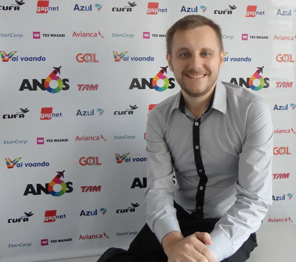 Luiz Andreaza, fundador da Vai Voando, fala ao DIÁRIO