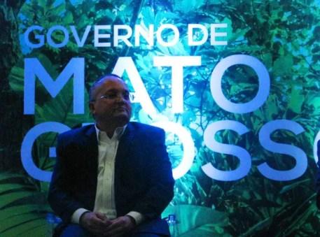 Pedro Taques, Governador do Estado do Mato-Grosso, compareceu à abertura da FIT Pantanal (Foto: DT)